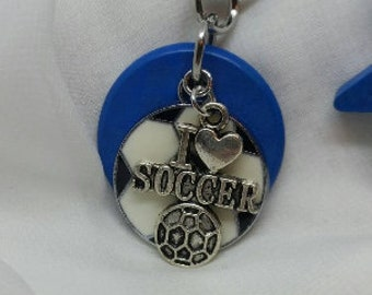 Soccer, kids diffuser necklace, essential oil necklace, diffuser necklace, aromatherapy necklace, diffuser, essential oil, football, 377bl