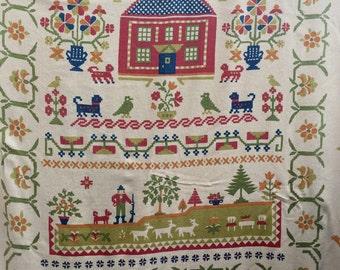 Vintage Twin Size Fieldcrest Bedspread/Blanket