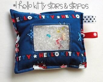 "SALE Hello Kitty Stars & Stripes ""I Spy"" bag"