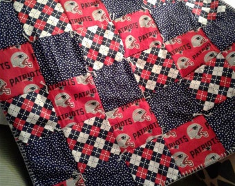 New England Patriots Baby Quilt