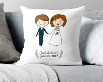 custom wedding,wedding gift, wedding decor, wedding decor, custom decor, custom pillow, wedding pillow
