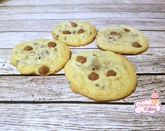 Chocolate Chip Cookies,  Made to Order, Homemade Cookies, Edible Gift 2 dozen