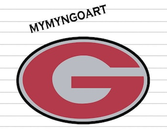 Georgia Bulldogs Logo Svg, Eps, Dxf, Pdf, Png, Jpe for Cricut and Silhouette-Digital Download.