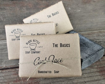 COAL FACE Organic Activated Charcoal Soap