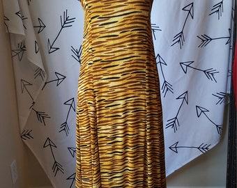 Mandy African Print Maxi Summer dress