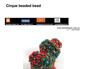 Cirque Beaded Bead Instant Downloadable Pattern PDF File