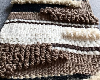 Woven wall hanging ǀ Woven tapestry weaving ǀ Woven wall art ǀ Textile wall weaving ǀ Fiber art ǀ Wall decor ǀ Home decor ǀ Decorations