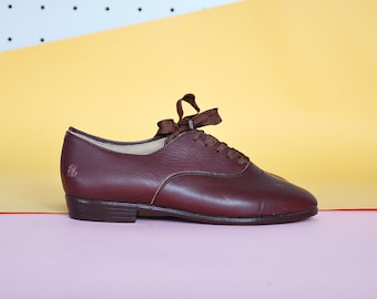 80s STRINGATE oxford PREPPY CLASSICO Oxford IN inglese Oxford moderna di francesine domani oxfords oxfords mod / taglie US 5,5 / 3 uk / 35,5 UE
