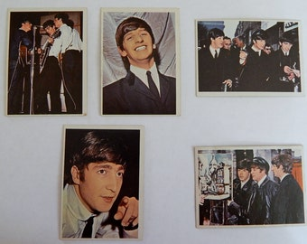 Beatles Diary Trading Cards, Beatles Memorabilia