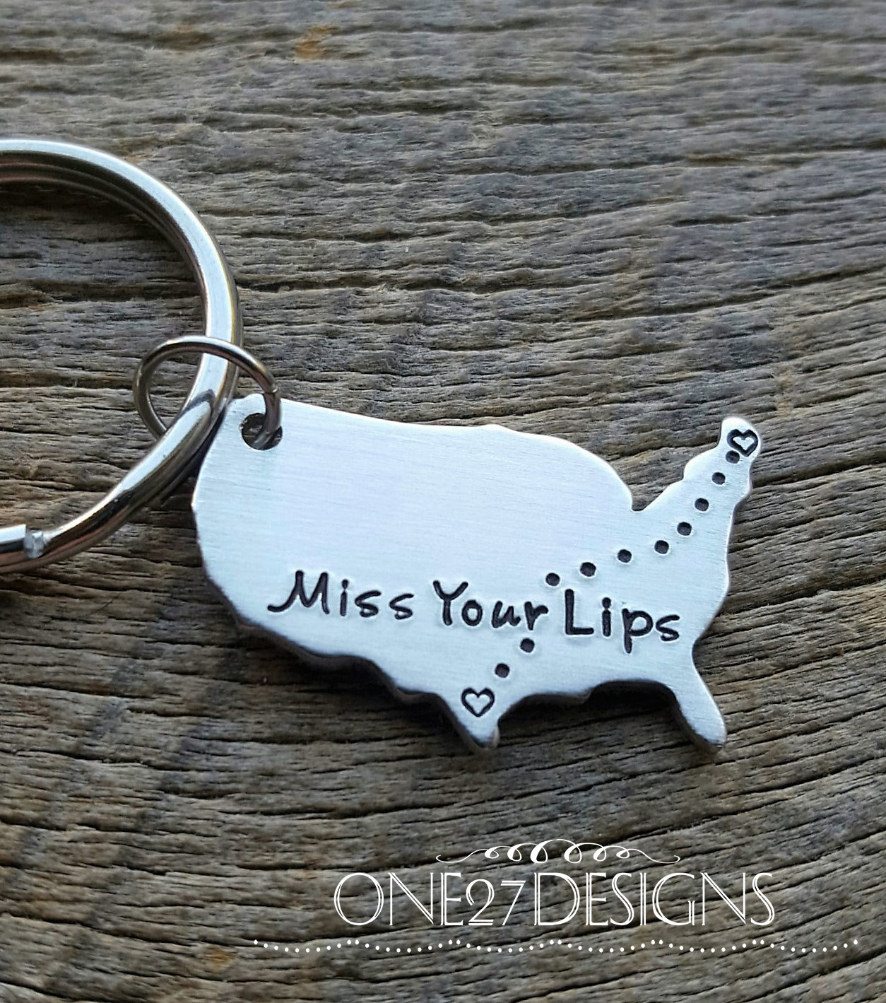 Customizable Pick your States United States and Stamped Aluminum ...