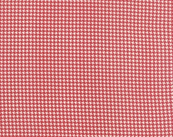 First Crush (5602 12) Houndstooth in Apple Red by Sweetwater