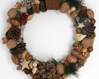 "16"" Country Winter Wreath"