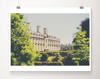 Cambridge photograph Clare College photograph architecture photography Cambridge print travel photography English decor