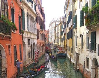 Venice Narrow Canal & Gondola B