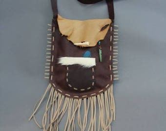 Primitive Leather Handbag