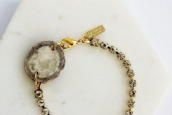 Antler & Crystal Bracelet
