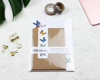 Butterfly Letter Writing Set | Snailmail Penpals Stationery
