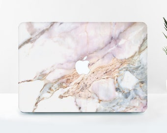 Rose Marble Macbook Hard Case Macbook Pro Case Laptop Case Macbook Air Case Macbook Skin Laptop Hard Case Laptop Decal Macbook Hard BD2003