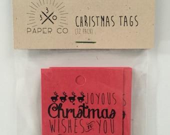 Christmas Tags (qty:12)