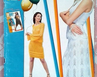 Crochet Magazine *ДУПЛЕТ Delicate lace*  in RUSSIAN LANGUAGE-Crochet patterns and lessons magazine-Jackets,shawls,Irish lace dress,tops