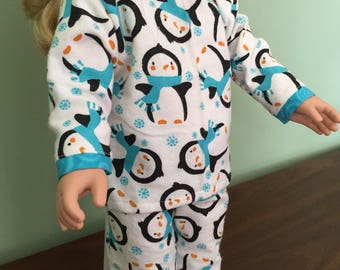 Penguin Doll Pajamas
