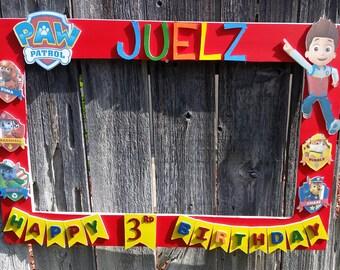 Birthday, Baby Shower, Wedding, Cartoon Themed Party Photo Prop Frame