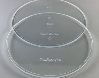 """Round Acrylic Disk Sets .25"""" and .50"""""""