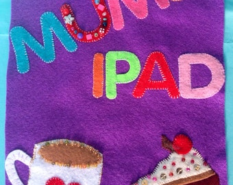 Personalised protective IPad cover