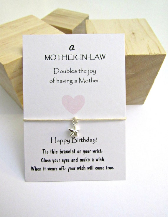 Mother In Law Birthday Gift Gift For Mother In Law