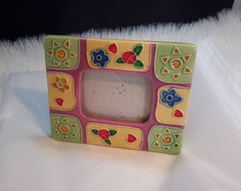 resin decoration flowers picture frame