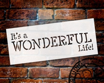 It's A Wonderful Life - Select Size - STCL1394 - by StudioR12