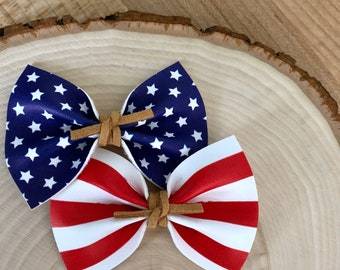 Stars and Stripes Pigtail Set