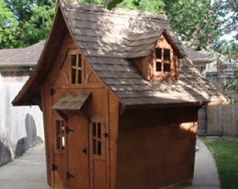 Storybook Cottage 2 plans - Playhouse / Shed