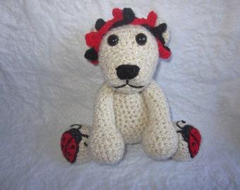 Little Ladybug Lover Bear Crochet Pattern