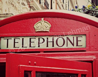 London Telephone Booth - Digital Download