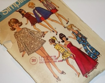 Retro Barbie Hippie Wardrobe  Sewing Pattern