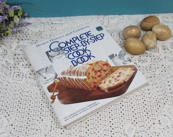 The Good Housekeeping All American Cookbook ~ Step By Step Recipes ~First Edition-Third Printing 1979~384 Pages ~Illustrated~Vintage Recipes