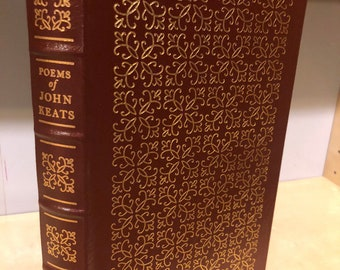 Easton Press Collected Poems of John Keats 100 Greatest