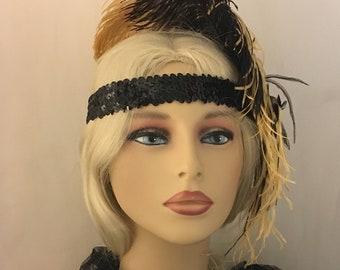 Gatsby Headband, Art Deco Headband, Bridal Headband, Hair Accessories, Headband Mariage, Wedding Headband, Vintage Inspired, Bridesmaid Gift