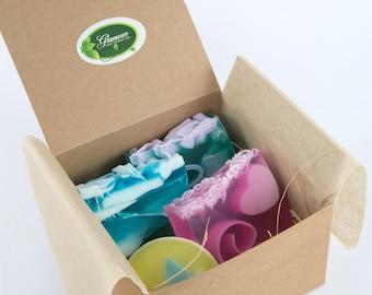 Gift box for all - Handmade soaps