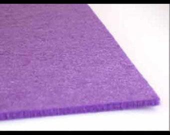 Sheet of felt 3mm - purple - 21 x 29.7 cm - x 1pce