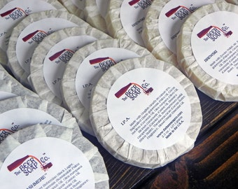 50 Beer Soap Wedding Favors by The Beer Soap Company