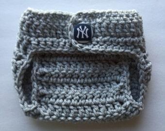 Yankees de pañales cubierta, Yankees de Nueva York de pañales cubierta, regalos de Yankees bebé, pañales recién nacido, cubierta de pañal del bebé, apoyo de foto de bebé
