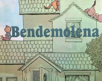 Vintage Childrens Book Rare Bendemolena by Jan Slepian and Ann Seidler FIRST PRINTING Full Color Illustrated Kids Story Book Collectible