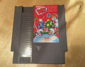 Bubble Bobble Game Cartridge | NES | Nintendo | Collectable | Vintage Video Game