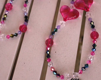 Birthday Girl Princess Slipover Beaded Party Favor Necklace