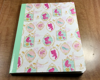 Princess Silhouette Altered Composition Notebook