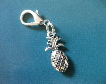 3D Pineapple - Midori Planner Journal Charm Symbol of Hospitality Welcome Friendship