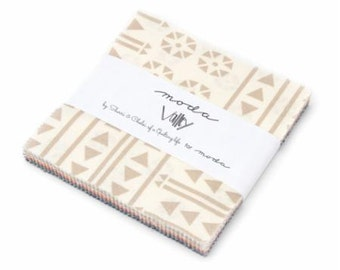 Valley charm pack 5 inch squares for Moda Fabric by Sherri and Chelsi