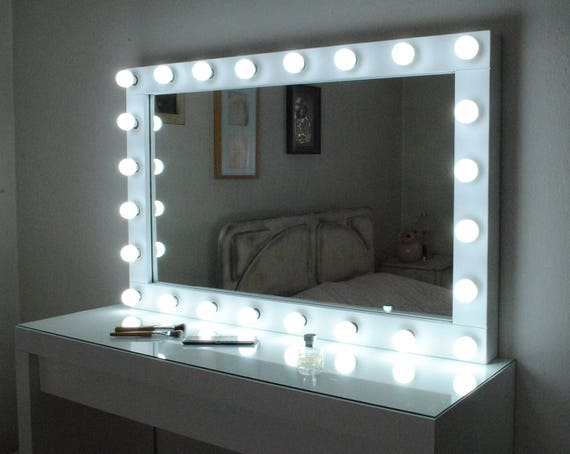 Xl Hollywood Vanity Mirror With Lights Make Up Mirror Wall
